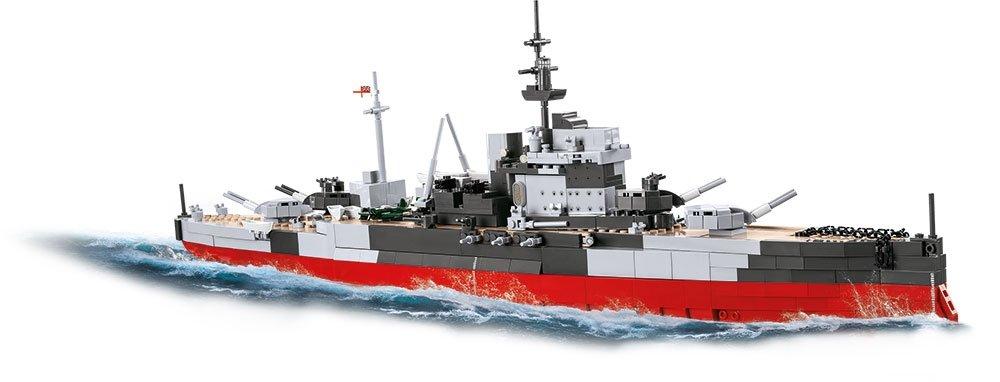 COBI HMS Warspite Battleship (4820) USA