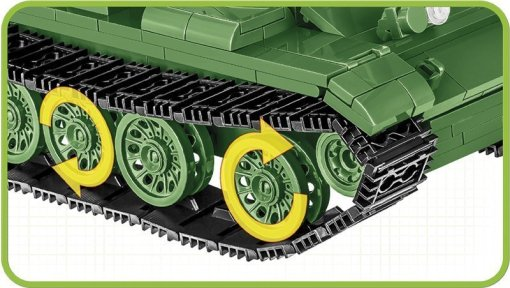 COBI MEDIUM TANK T- 55 (2234) SET tracks