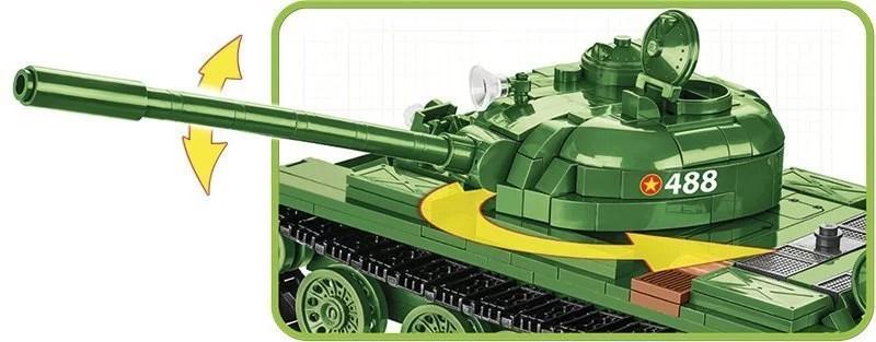 COBI MEDIUM TANK T- 55 Gun