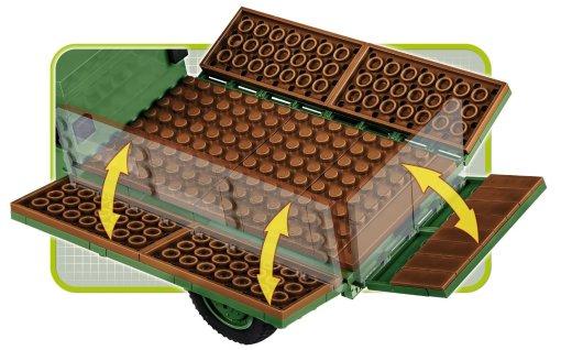 COBI MERCEDES BENZ L3000S SET (2455A) bed