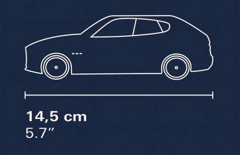 COBI Maserati Lavante Length