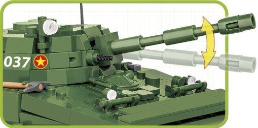 COBI PT-76 Tank Set (2235) Gun