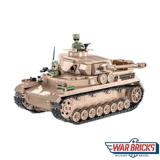 COBI Panzer IV AUSF. F2 DAK Set