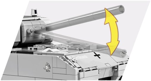 COBI Panzer VIII Maus Set (3024) Gun