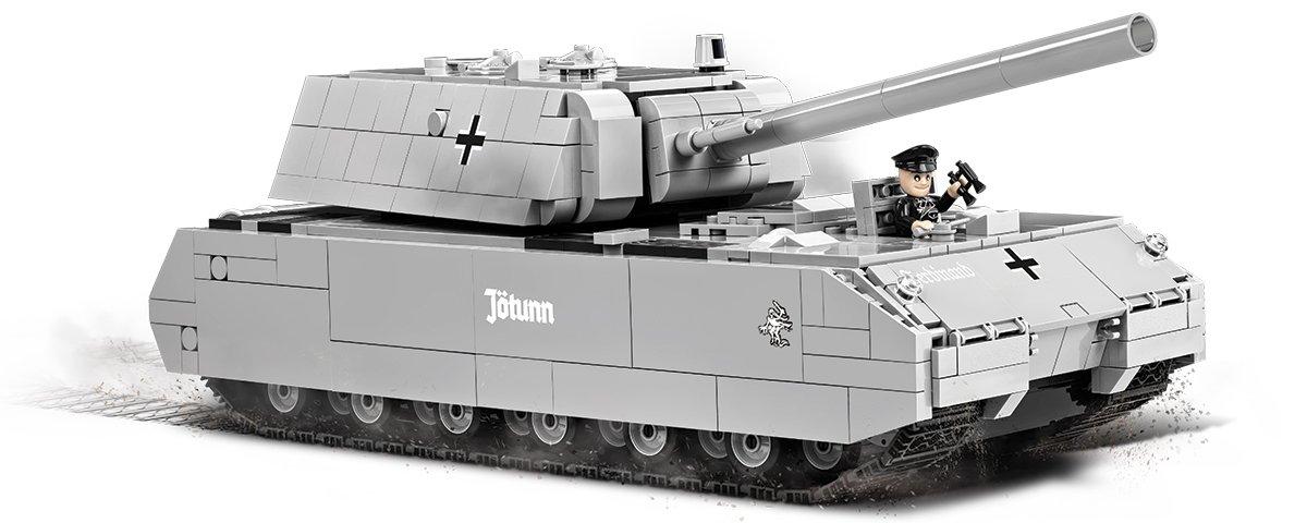 COBI Panzer VIII Maus Set (3024) How many pieces