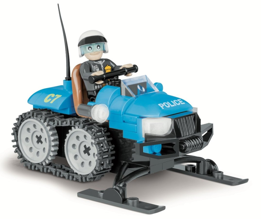 COBI Police Snowmobile Set (1544) Amazon