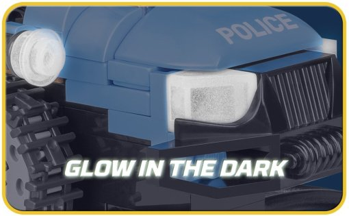 COBI Police Snowmobile Set (1544) Headlights