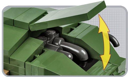 COBI Renault FT-17 Tank Set (2973) Engine