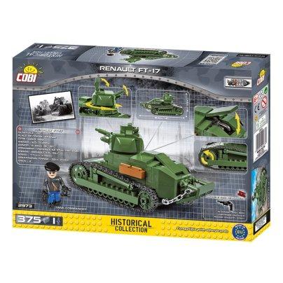 COBI Renault FT-17 Tank Set (2973) Review