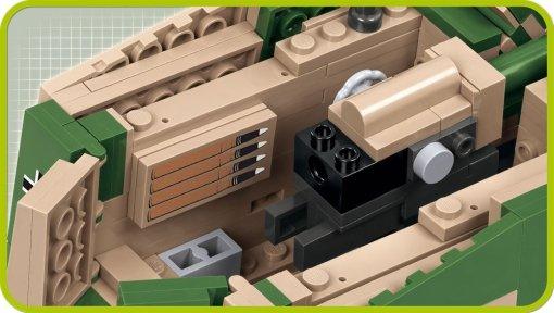 COBI SD.KFZ NASHORN Set (2517) Inside details