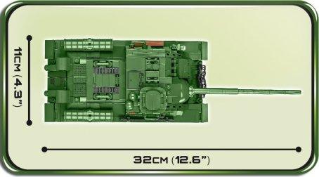 COBI SU-100 Tank Destroyer (2541) length