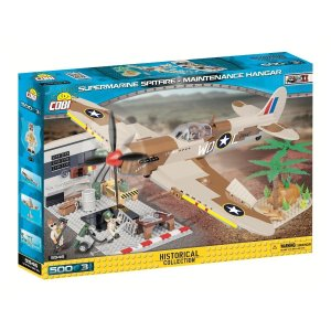 COBI SUPERMARINE SPITFIRE - MAINTENANCE HANGAR Set (5546)