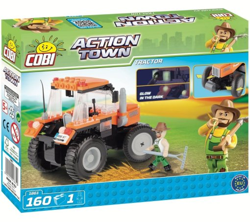 COBI Tractor Set (1861) box