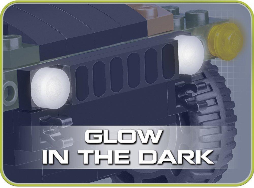 COBI US & NATO VEHICLES JUNGLE (24304) SET Glow in the dark