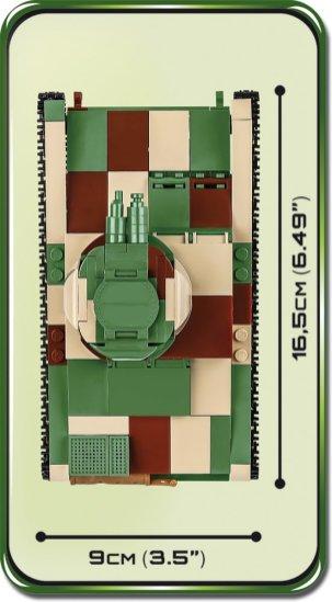 COBI Vickers Tank Set (2520) Size