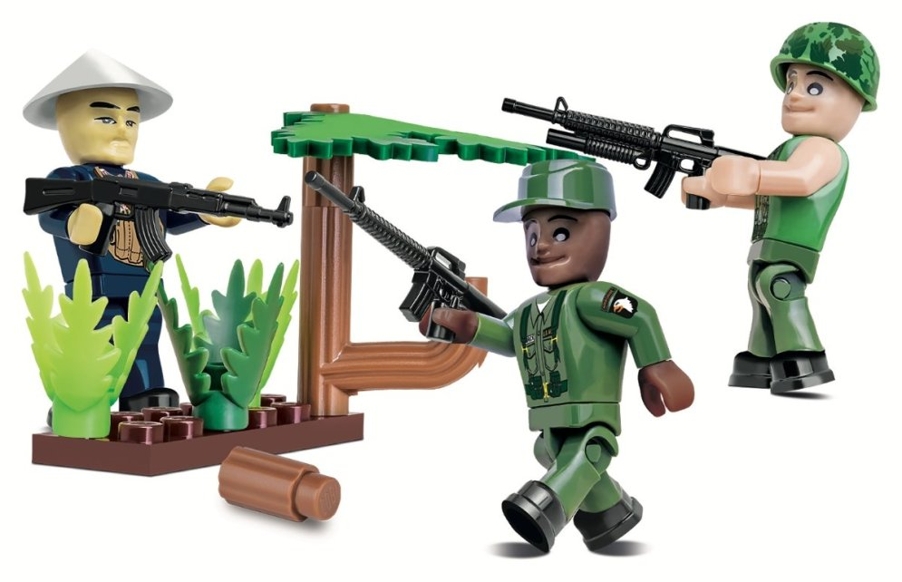 COBI Vietnam War Figures Set (2038) AMazon