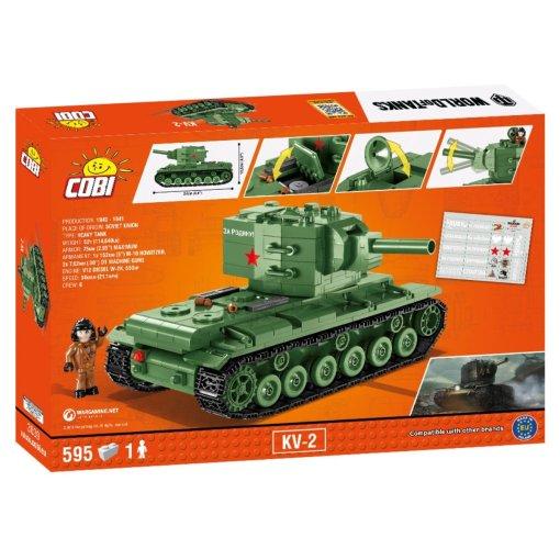 COBI WOT KV-2 Set (3039) Amazon
