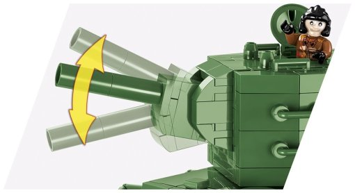 COBI WOT KV-2 Set (3039) Gun