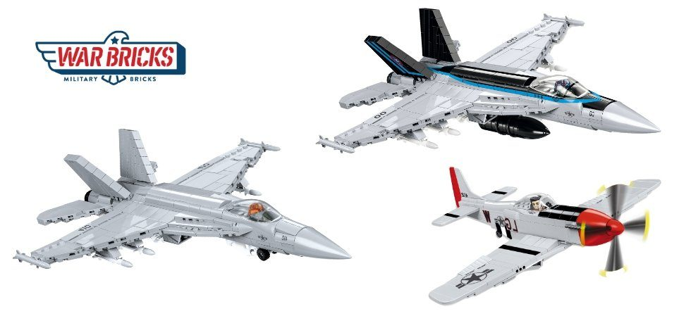 Cobi Top Gun Series Sets Available in The USA