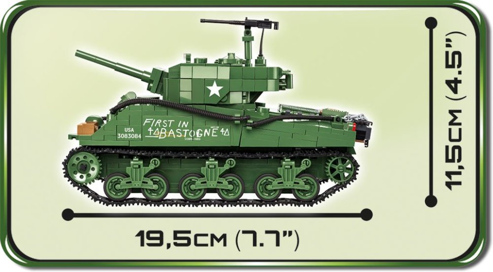 COBI 2550 size