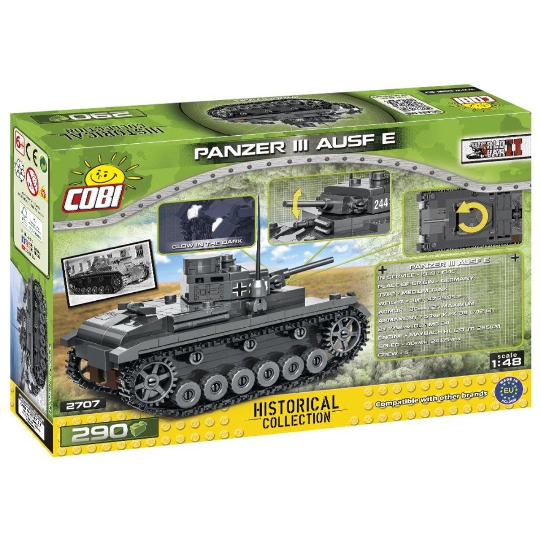 COBI Panzer III AUSF E Set (2707) Amazon