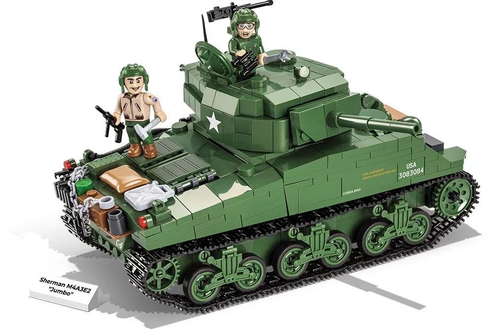 COBI Sherman M4A3E2 Jumbo Set (2550) amazon