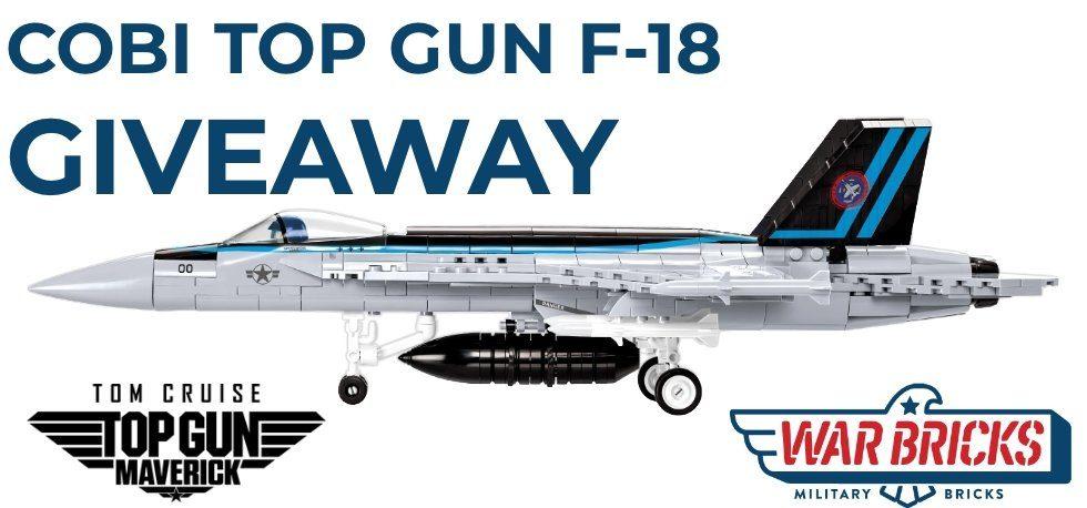 COBI TOP Gun F18 Giveaway