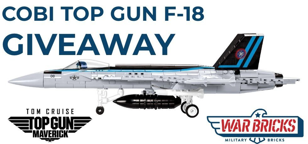 COBI Top Gun Maverick F-18 Giveaway