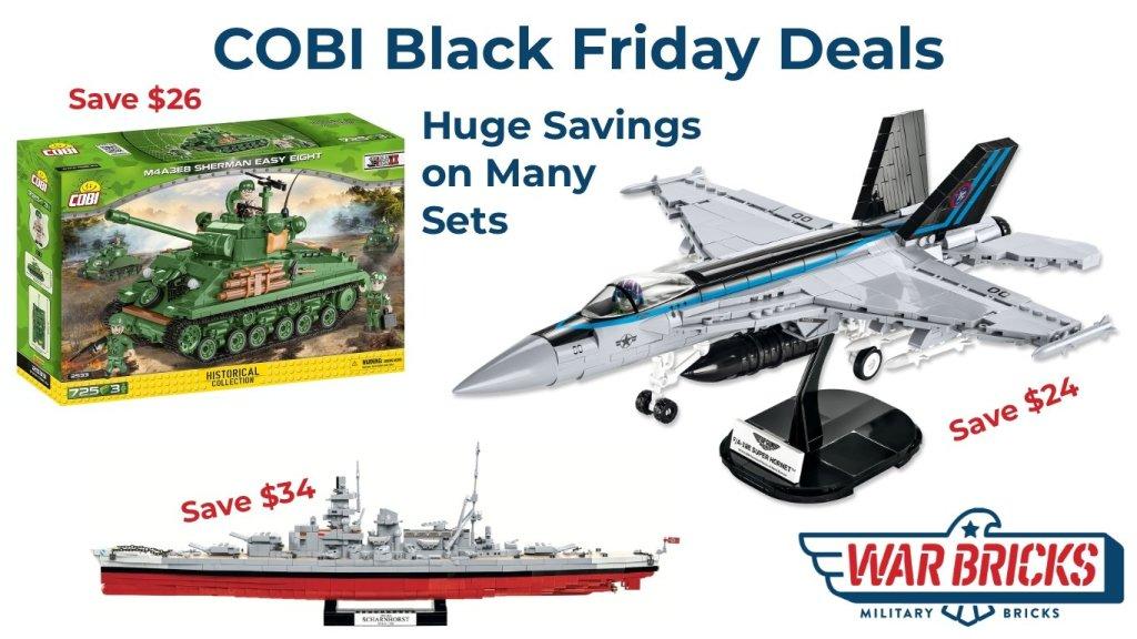 Cobi Black Friday Deals