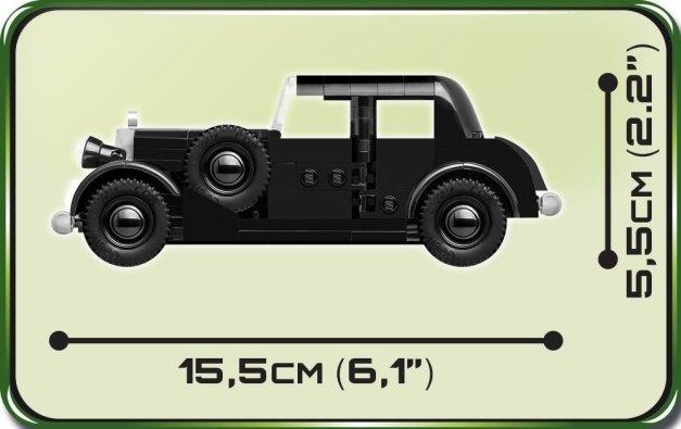 COBI Mercedes 230 Set (2251) Size