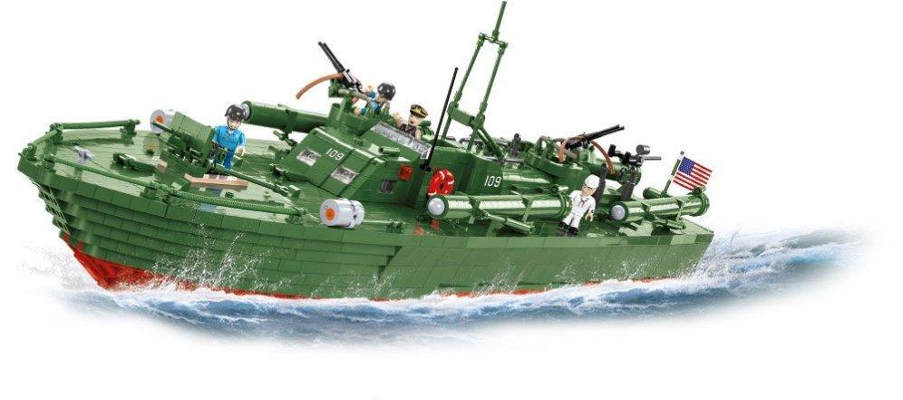 COBI PT-109 Torpedo Boat Set (4824) Build cobi