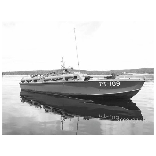 COBI PT-109 Torpedo Boat Set