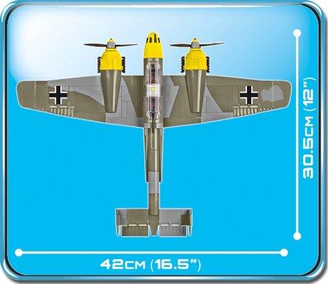 COBI Messerschmitt BF110 D (5716) Size