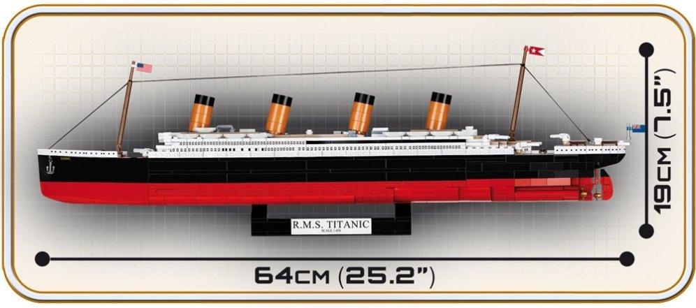 COBI RMS Titanic Executive Edition (1928) Size