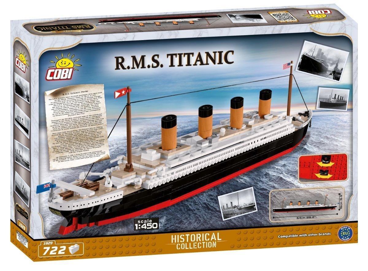 COBI Titanic 1_450 Scale Set (1929) amazon