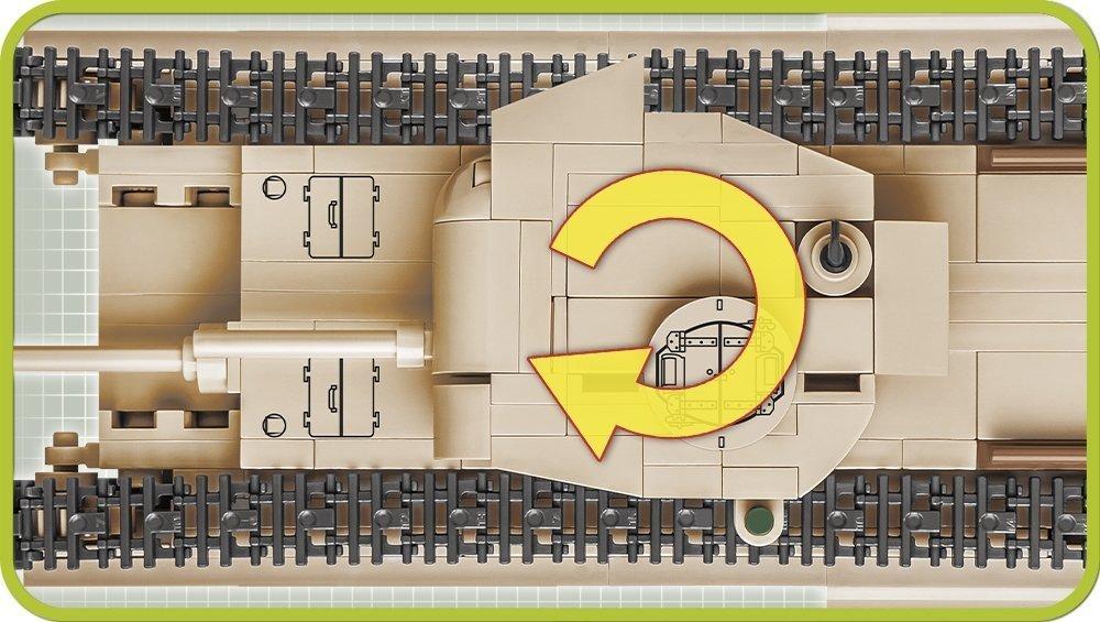 COBI A22 Churchill MK II (CS) 2709 Details
