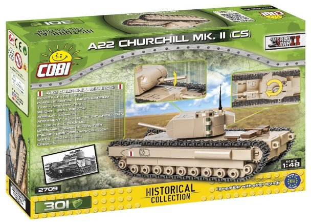 COBI A22 Churchill MK II (CS) 2709 REview