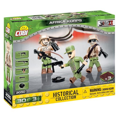 COBI GERMAN 1ST INFANTRY Set (2050)