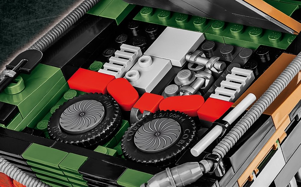 COBI Leopard 2A5 TVM Set (2620) Power Pack