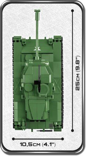 COBI M41A3 Buldog Set Length