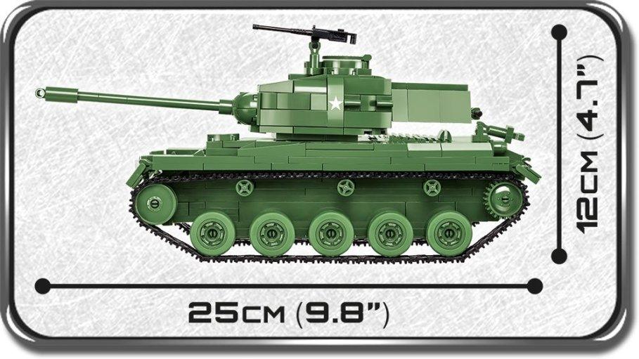 COBI M41A3 Buldog Size