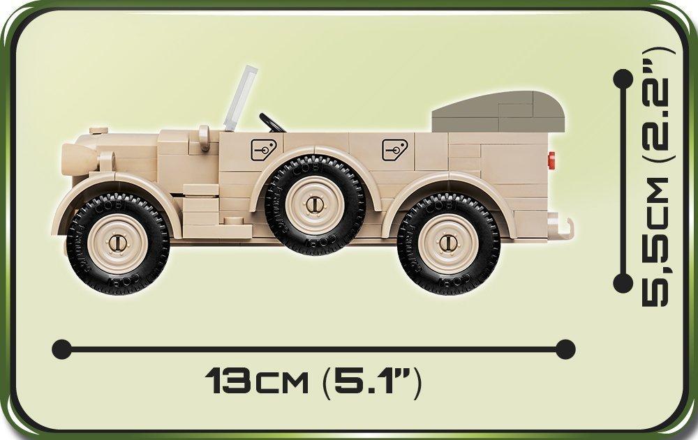 Cobi 1937 Horch 901(KFZ.15) set (2256) length