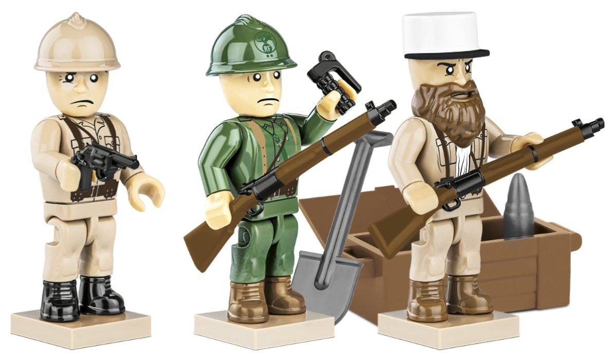 COBI French Armed Forces Figure Set (2037) Warbricks