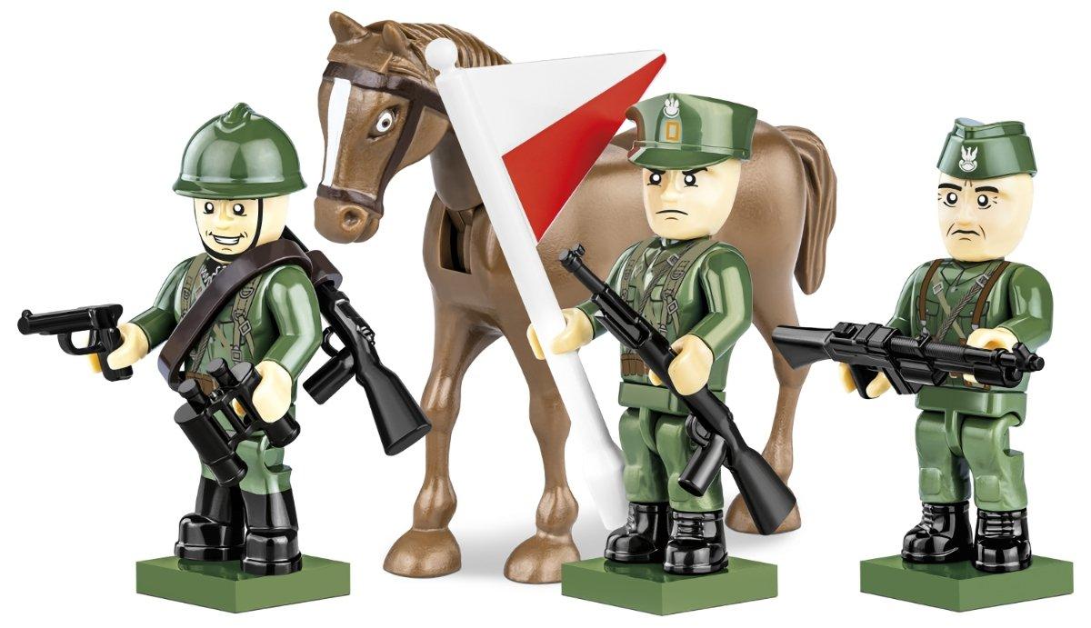 COBI Polish Army Figures 1939 (2049) Build Cobi