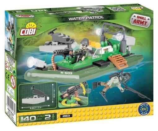 COBI Water Patrol Set (2163) Amazon