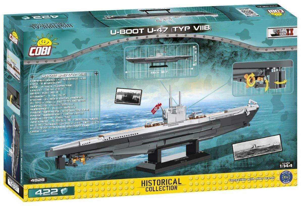 Cobi U-boot U-47 V11B set. box