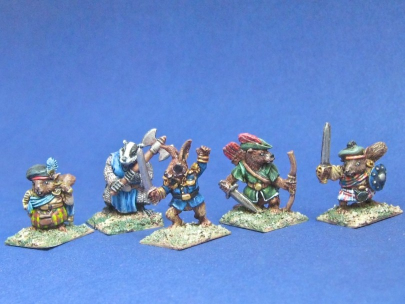 15mm/18mm Woodland Warriors from Sprintered Light Miniatures - The Faithful