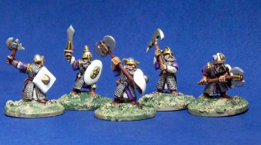 15mm dwarves from Black Raven