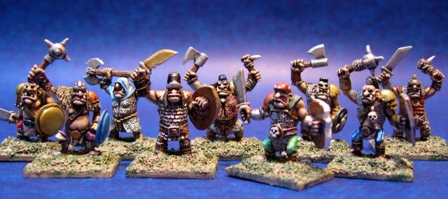 10mm Warmaster Ogres from Games Workshop