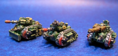 6mm Epic 40k Imperial Army
